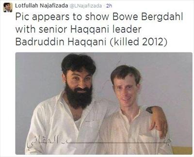 Bergdahl-with-Badruddin-Haqqani
