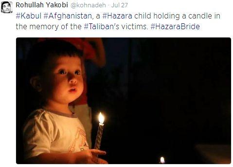 Rohullah Yakobi - Candle light vigil for Ghor victims