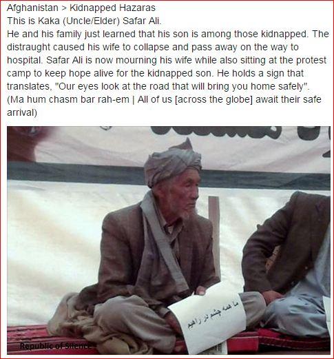 SafarAli - HazaraKidnapping