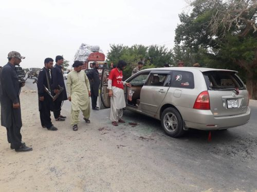 Mastung Attack Victims Car