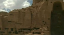 Homeless Hazaras living in 2000 year old caves of Bamyan Buddhas' statues