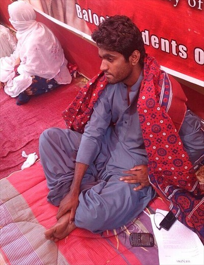 LateefJohar-After10daysHungerStrike-May1-2014