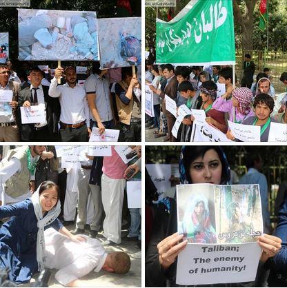 KabulProtest-for-Hazara-Massacre-in-Ghor