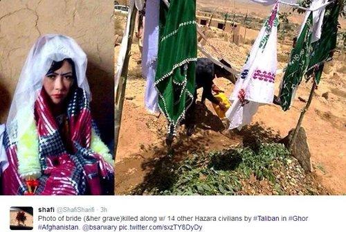 hazara-bride-and-her-grave-executed-ghor-afghanistan