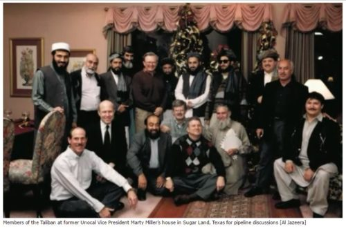 Taliban with UNOCAL-OIL Execs in Sugarland Texas, USA